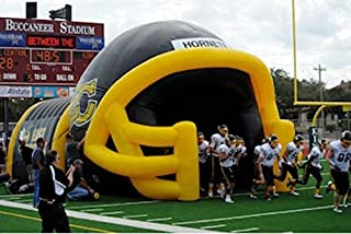 Inflatable Commercial Wedding Event Tailgating Beach Football Helmet Tunnel Tent (Medium)