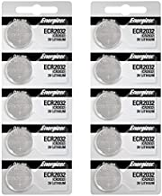 Energizer 2032 Battery CR2032 Lithium 3v (1 Pack of 10)
