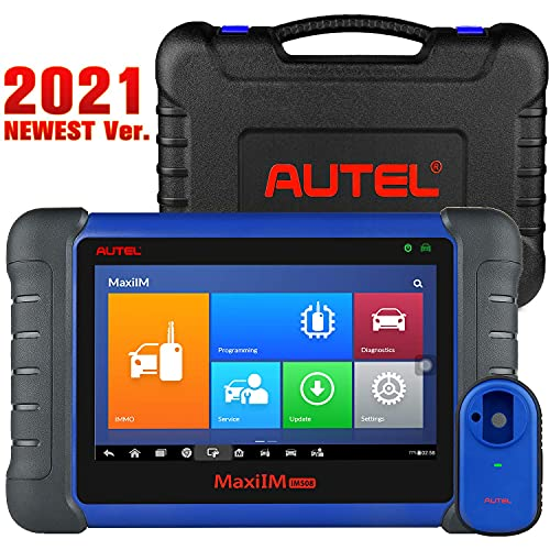 Autel IM508 2021 Professional Key FOB Programming Tool with XP200 Programmer, Car Diagnostic Scan Tool with All System Diagnostics, ABS Bleed  Oil Reset  EPB  DPF  SAS  BMS for Workshops  DIYERS