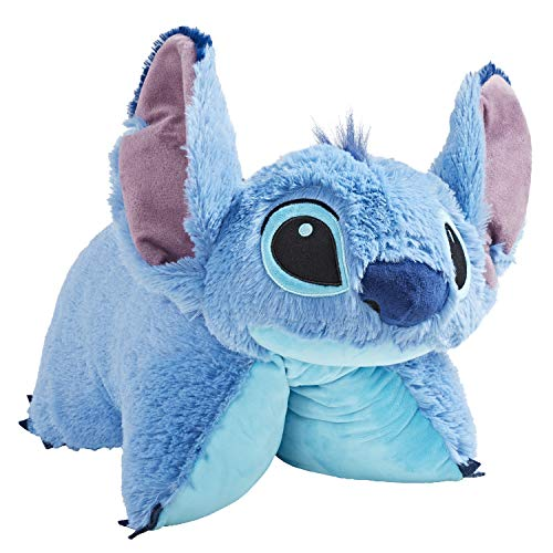 Pillow Pets Stitch Plush Toy - Disney Lilo and Stitch Stuffed Animal, Blue