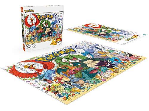 """Buffalo Games - Pokémon - Fan Favorites - 300 Large Piece Jigsaw Puzzle Multicolor, 21.25""""L X 15""""W"""