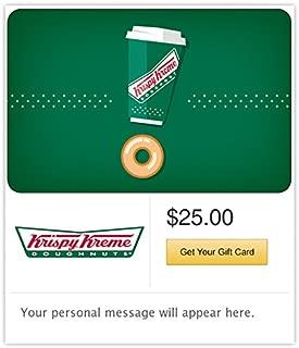 Krispy Kreme Gift Cards - E-mail Delivery