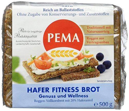 Pema Fitnessbrot, 6er Pack (6 x 520 g)