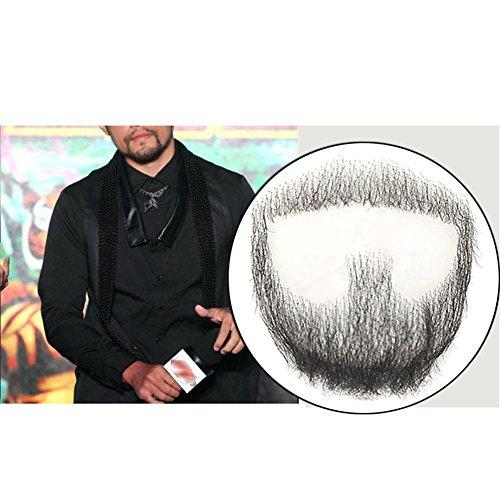 Remeehi, Ziegenbärtchen, Herren-Bart, Echthaar, Spitze, handgefertigt, Schnurrbart, für Verkleidungen