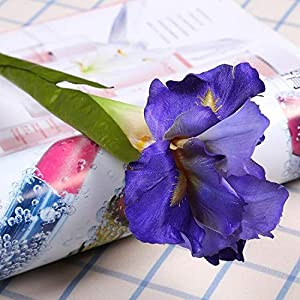 Artificial Iris Flower Branch Spring Wedding Decor Home Table Decoration Flores Silk Fake Flower Party Supplies