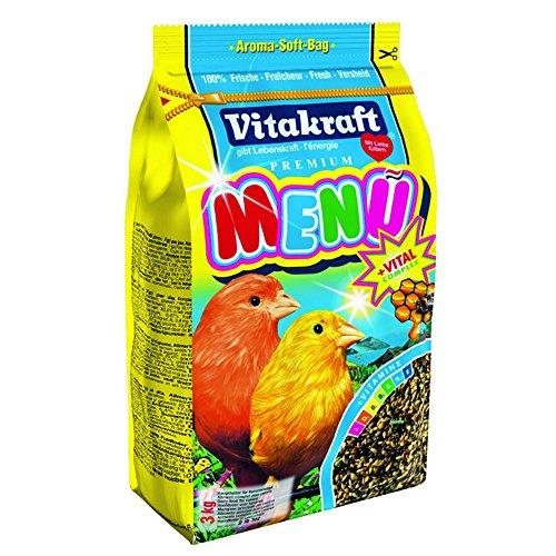 VITAKRAFT Menü Honig / Vital-Complex - Kanarienvögel - 3kg