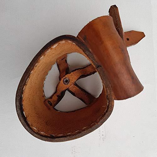crooza Becherhalter aus Büffelleder Büffel Leder Buffalo Leather Western Style