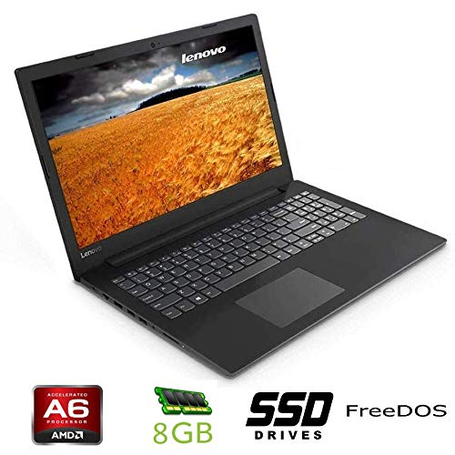 Notebook Lenovo cpu A6 9225 boost 2,6GHz ,15,6' HD, DDR4 8GB, SSD da 256Gb , Radeon R3, Wi-fi, Lan, Bluetooth, FREEDOS