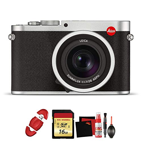 Why Should You Buy Leica Q (Typ 116) Digital Camera (Silver Anodized) with Memory Card and Cleaning ...