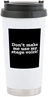 CafePress Stage Voice Stainless Steel Travel Mug, Insulated 16 oz. Coffee Tumbler