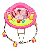 NewAge Baby Walker Round Base with Music (Pink, 9 Months to 1.5 Years)