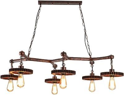 Lámparas de araña Araña, Restaurante, Hierro Forjado, 6 ...