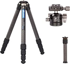 Leofoto LS-324C+LH-40 Tripod Kit LH-40 Carbon Fiber CF 4 Section & 40mm Low Profile Ball Head