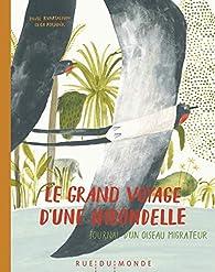 Le grand voyage d'une hirondelle par Olga Ptashnik
