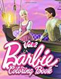 Barbie Coloring Book: Funny Coloring Book For Kids Great for Girls Ages 4-8 - Vol 2