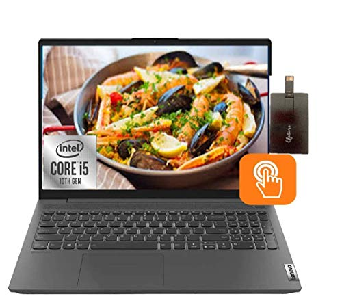 2020 Lenovo IdeaPad 5 15.6' FHD Touchscreen Student and Business Laptop Computer, Intel Core i5-1035G1, 16GB RAM,512GB SSD, Backlit KB, Dolby Audio, Intel UHD Graphics, Win 10 with E.S 32GB USB Card