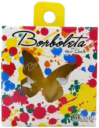 Borboleta Made In Japan 1 Day Hair Chalk Safe Quality - Yellow [Badartikel]