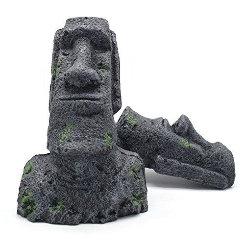 OMEM Sculpture en résine pour terrarium de reptile et terrarium