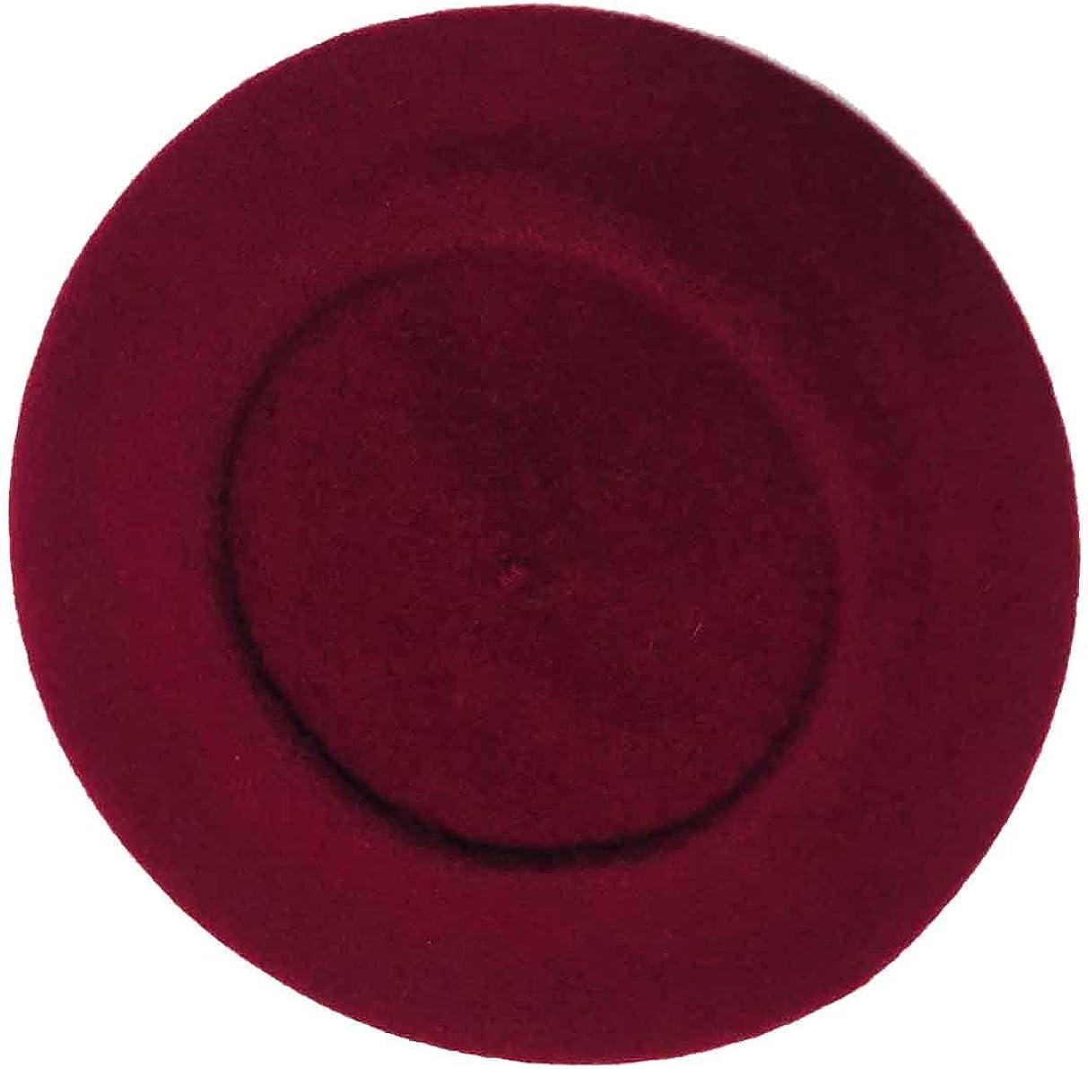 Parkhurst Classic Wool Beret (Amarone-Wine)