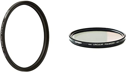 58mm Circular Polarizer Multicoated Glass Filter for Pentax K-500 Microfiber Cleaning Cloth CPL