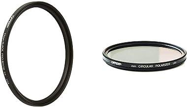 Tiffen 77BPM14 77mm Black Pro-Mist 1/4 Filter & 77mm Circular Polarizer