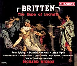 The Rape of Lucretia, Op. 37: Act II Interlude: Here in this scene you see Virtue assailed by sin … (Female Chorus, Male Chorus)