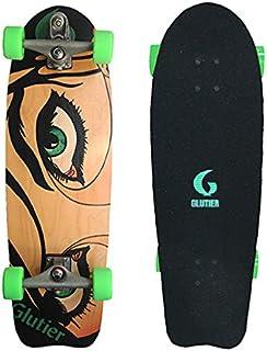 Glutier Surfskate Dryli Eyes 31¨ with T12 Surf Ska...