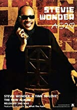 Desconocido Stevie Wonder a Time To Love Póster Foto Songs In The Key of Life 001 (A5-A4-A3) - A4