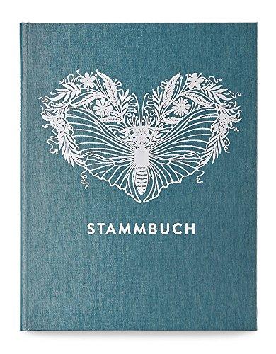 GLÜCK & SEGEN ALLES MIT LIEBE Stammbuch, Stammbuch der Familie, Familienstammbuch Greta (Kobalttürkis)