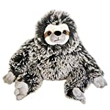 The Petting Zoo - Super Soft Frosted Brown 15' Three-Toed Sloth - Stuffed Animal Toy - Great for Baby/Toddlers/Kids - Boys & Girls