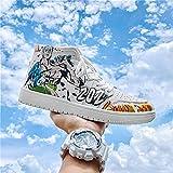 Anime Cosplay Moda Streetwear Zapatos casuales Zapatillas de deporte, para ONE PIECE Monkey D. Luffy, Hombres Mujeres Zapatos