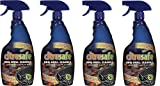 Bryson Industries Grill Cleaning Spray - BBQ Grid And Grill Grate Cleanser By Citrusafe (4-pack)