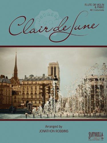 Debussy's Clair de Lune for Flute or Violin & Piano