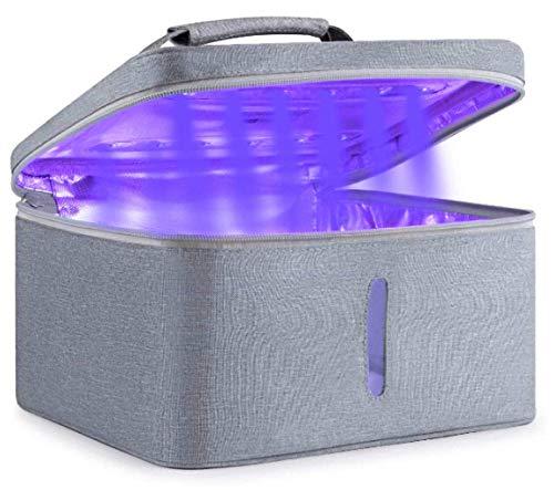 UV Light Sanitizer Portable Sterilizer Lamp for Home Travel Kills 99% of Germs Viruses amp Bacteria… UV Bag
