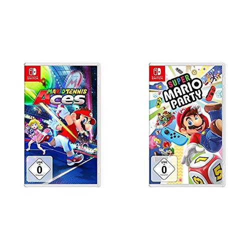 Mario Tennis Aces - [Nintendo Switch] & Super Mario Party - [Nintendo Switch]