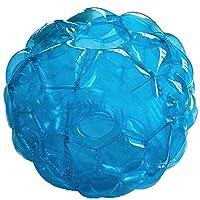 膨脹可能なバンパーボール、屋外の子供のためのPVCバンパーボール、ダブルバンパーボール、ダブルバンパーボールプレイゲーム子供&スリムな大人のためのボールサイズ,3