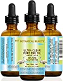 Aceite de la UEM 100% puro omega 3,6 y 9. Refinado/Premium para el cuidado de la cara, cuerpo, manos, pies, uñas y cabello y labios.
