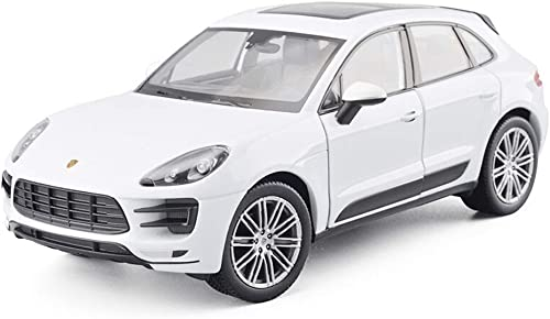 YSNUK Modèle réduit de voiture Mini modèle de voiture jouet, modèle en alliage moulé sous pression 1 24 Porsche Macan, jouets éducatifs for les enfants de 8 ans et plus Mini voiture modèle, décoration