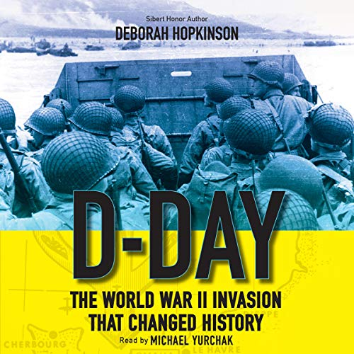 D-Day Audiobook By Deborah Hopkinson cover art