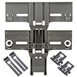 Kitchen Dishwasher Adjuster Replacement Accessory Fit W10350376 Dishwasher Top Rack Adjuster & W10195839...