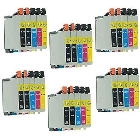 8 Druckerpatronen Kompatibel Für Epson Stylus Dx4250 Bürobedarf Schreibwaren