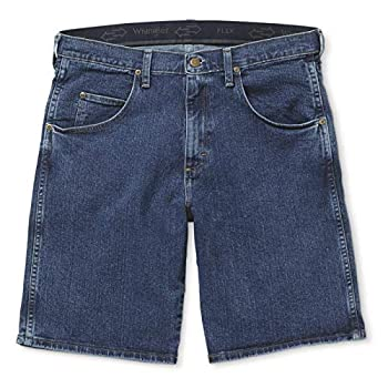 Wrangler Men s Rugged Wear Performance Series Relaxed Fit Shorts Medium Stone 40