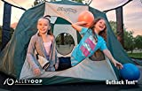 AlleyOOP Outback Trampoline Tent | Cushy & Elastic No-Pole Safety...
