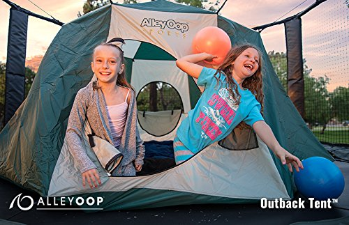 JumpSport Big Top | Cushy & Elastic No-Pole Safety Design | Giant Size...