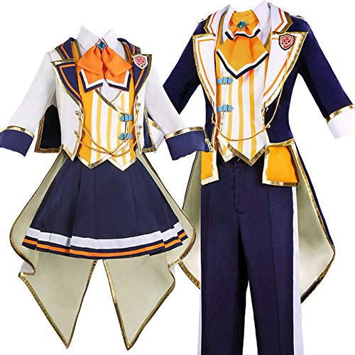 GZCOS Anime Kagamine Rin Len Cosplay Costume Outfit Uniform Suit Halloween