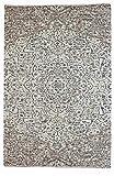 Kunstloft Alfombra Tejida a Mano 'Templo de Jain' 160x230cm