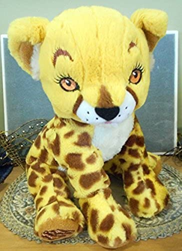 Little braunie Bakers Cheetah Plush Amaze Stuffed Toy 12 by Little braunie Bakers