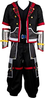 Halloween Costume Kingdom Hearts III Protagonist Sora Outfit Uniform
