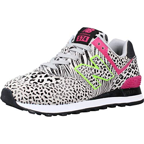 New Balance WL574ANA, Sneaker Mujer, Negro, 37.5 EU