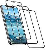 3 x vetro protettivo 3D per iPhone 12 Mini 9H in vetro temperato, protezione completa del display anteriore, pellicola in vero vetro temperato Full Screen